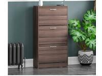 Vida Designs 3 Drawer Shoe Cabinet RRP£50