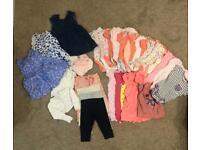 Girls 6-9 month large Bundle including 16 sleepsuits