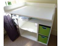 Changing Table/Desk - Ikea - STUVA