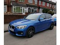 2017 67 BMW 116D M Sport Auto Facelift Only 600 Mileage [Navigation Pack]