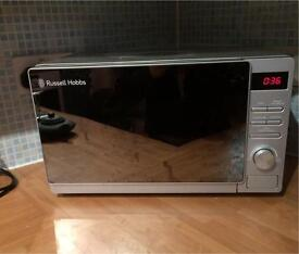 MINT CONDITION RUSSELL HOBBS MIRROR MICROWAVE