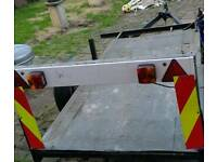 14ft trailer with lights