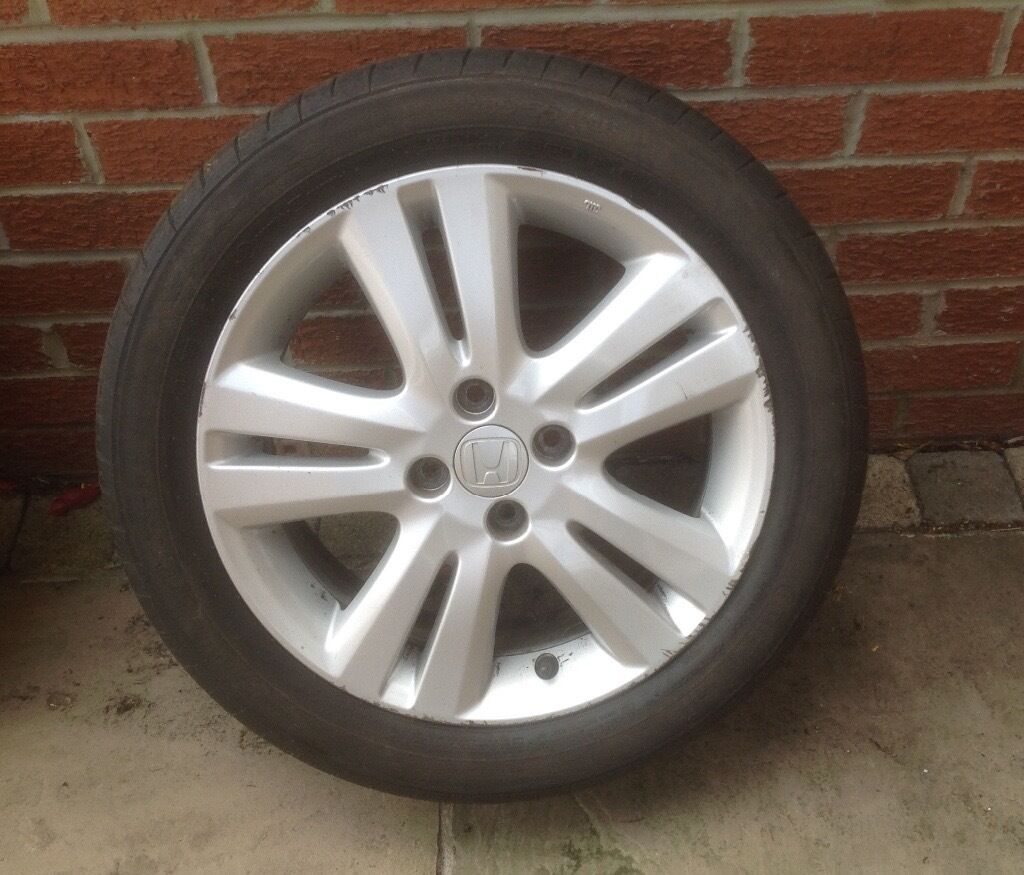 Honda Jazz Alloy Wheel In Darlington County Durham Gumtree