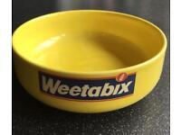Vintage weetabix bowl