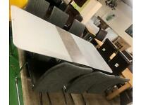 Table £399 chairs £80