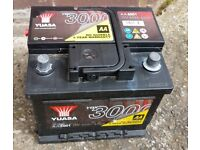 Yuasa YBX3063 brand new car battery - for wide range of cars (inc link to check compatibility)