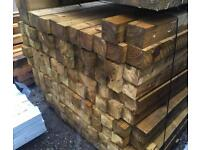 🦋 PRESSURE TREATED WOODEN/ TIMBER POSTS > NEW