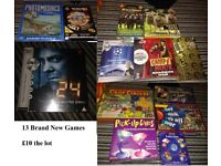 Job Lot of 13 Brand New and Sealed Games