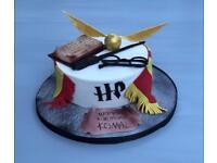 Wedding cakes, birthday cakes