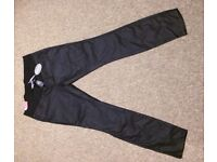 New Look maternity trousers black size 14