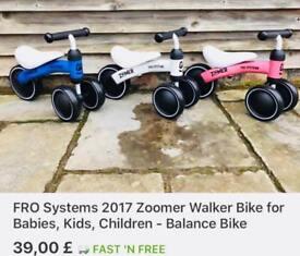 Baby balance bike, scooter