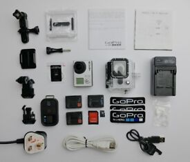 GoPro Hero3 Black with lots of extras