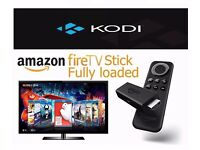 Amazon Fire TV Stick fully loaded with the latest version of Kodi + Addons