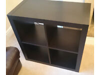 Ikea Expedit Black Shelves