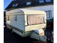 EUROPA 4 BERTH CARAVAN ~ DRY ~ Brakes, Hubs, Lights, Kitchen ALL WORKING