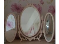Vintage dressing table mirror, fit for a princess/queen