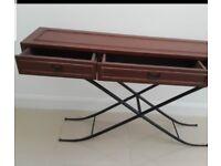 Hall way table