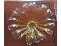 Italian Autica Cristalleria Glassware Bowl