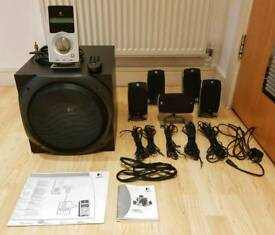 Logitech Z-5500 digital 5.1 surround speaker system