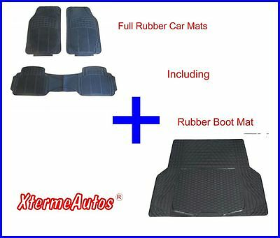 Full Rubber Protection Mat Set For Dacia Lodgy Logan Mcv