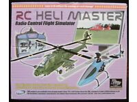 'RC Heli Master' Remote Controlled Helicopter Simulator (as new)