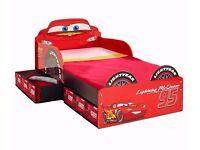 Disney Cars Lightning McQueen SnuggleTime Toddler Bed