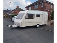 1995 abi marauder 4 berth caravan with full size awning
