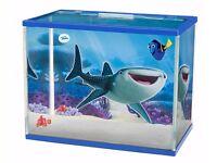 A brand new Finding Dory 19ltr 'Destiny themed' Glass Aquarium Kit W/ LED Light