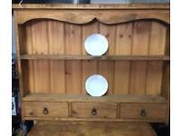Kitchen wall unit solid wood