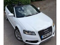 Audi A3 2.0 TDI S Line 2dr [Start Stop] Convertible FULL AUDI SERVICE HISTORY 1 PREVIOUS LADY OWNER