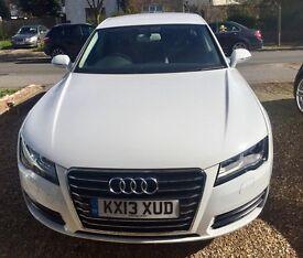 Audi A7 white, Full Audi History, Spotless Ex Audi management vehicle
