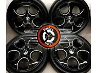 """17"""" Genuine VW GTI Monza alloys perfect cond good tyres."""