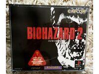 Game BIO HAZARD 2 for Japanese PlayStation.