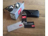 Genuine Ray Ban Clubmaster in Tortoise Brown