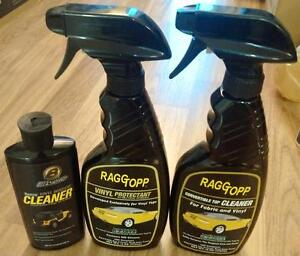 RaggTop Jeep SoftTop cleaner ( 90 %Full bottles )