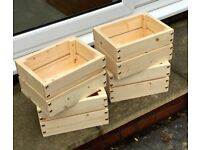 Wooden Planters and Trugs - Hand Made in Cornwall