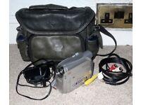 Canon MV890 Mini DV Camcorder With PSU / AV Lead / Bag - Working Order