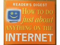 Reader's Digest 'How To Do Just About Anything On The Internet' Reference Book brand new