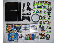 ps3 playstation 3 250gb with wireless controller, games and more!!!