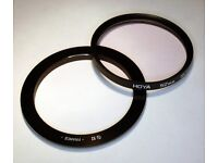 Hoya 52mm Skylight 1B Filter + Cokin A458 A Series adapter ring.