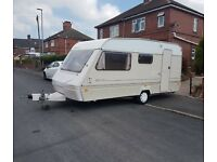 1995 abi marauder 4 berth caravan, with full awning