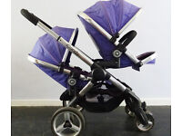 iCandy Peach Blossom 2 Double Buggy (violet)