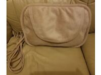 HOMEDICS shiatsu pillow with heat massager for sale.
