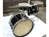Drums - Vintage John Grey Broadway Drum Kit - Early 60's ? - Great Jazz Kit