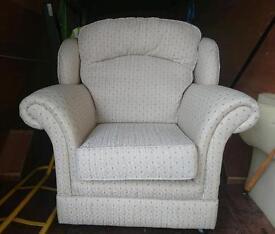 high back chair white.