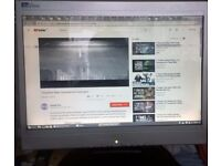 """LiteView 15"""" LCD monitor faulty, usable (free)"""