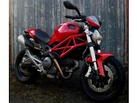 Ducati Monster 696cc, ABS, heated grips, R&G Tail tidy, 3535 genuine miles, FSH, Dry miles only