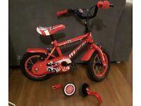 Fire rescue bike