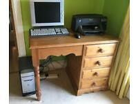 "Computer desk / Dressing Table 22"" deep"