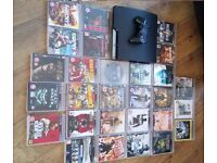Playstation 3 plus 30 Games